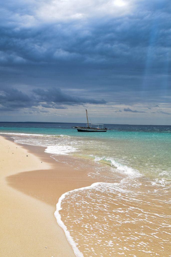 boat sandbank